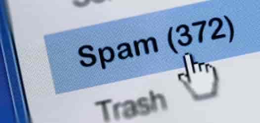 sinalizar email do Hotmail como spam